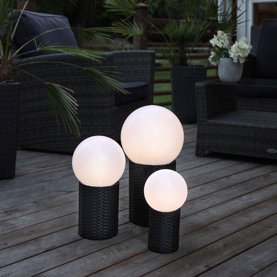 Led Solcelle Rotting Globe Solcelle Lamper