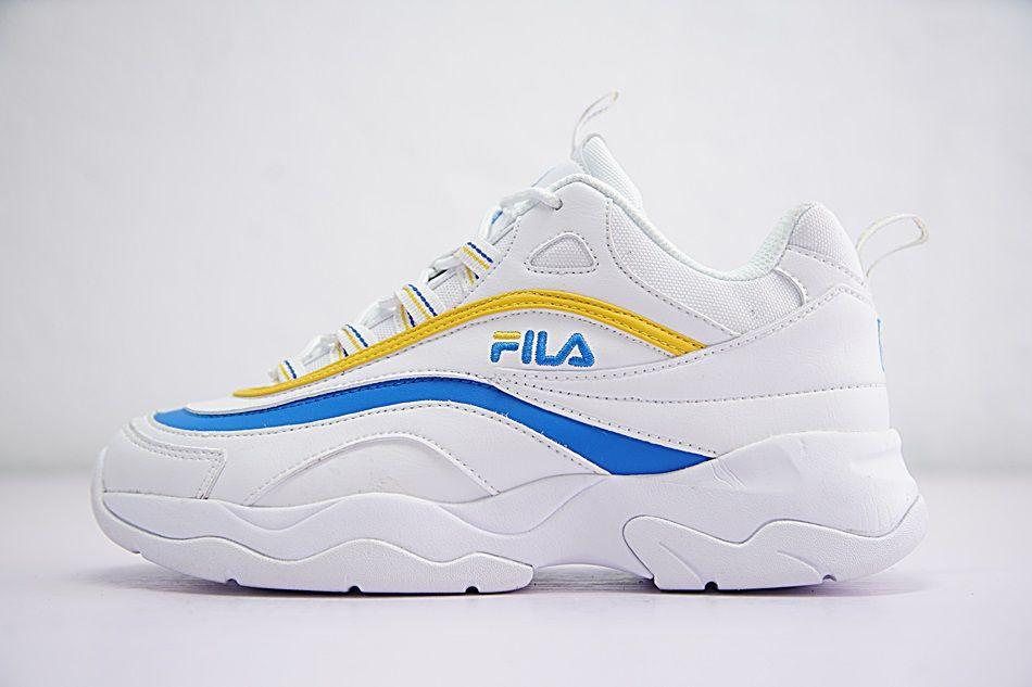 FILA RAY USA FOLDER X BLUE YELLOW WHITE
