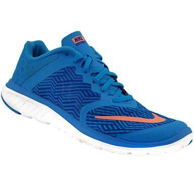 Nike Fs Lite Run 3 Premium Running Shoes - Womens Blue Glow Mango White 005c9eae0
