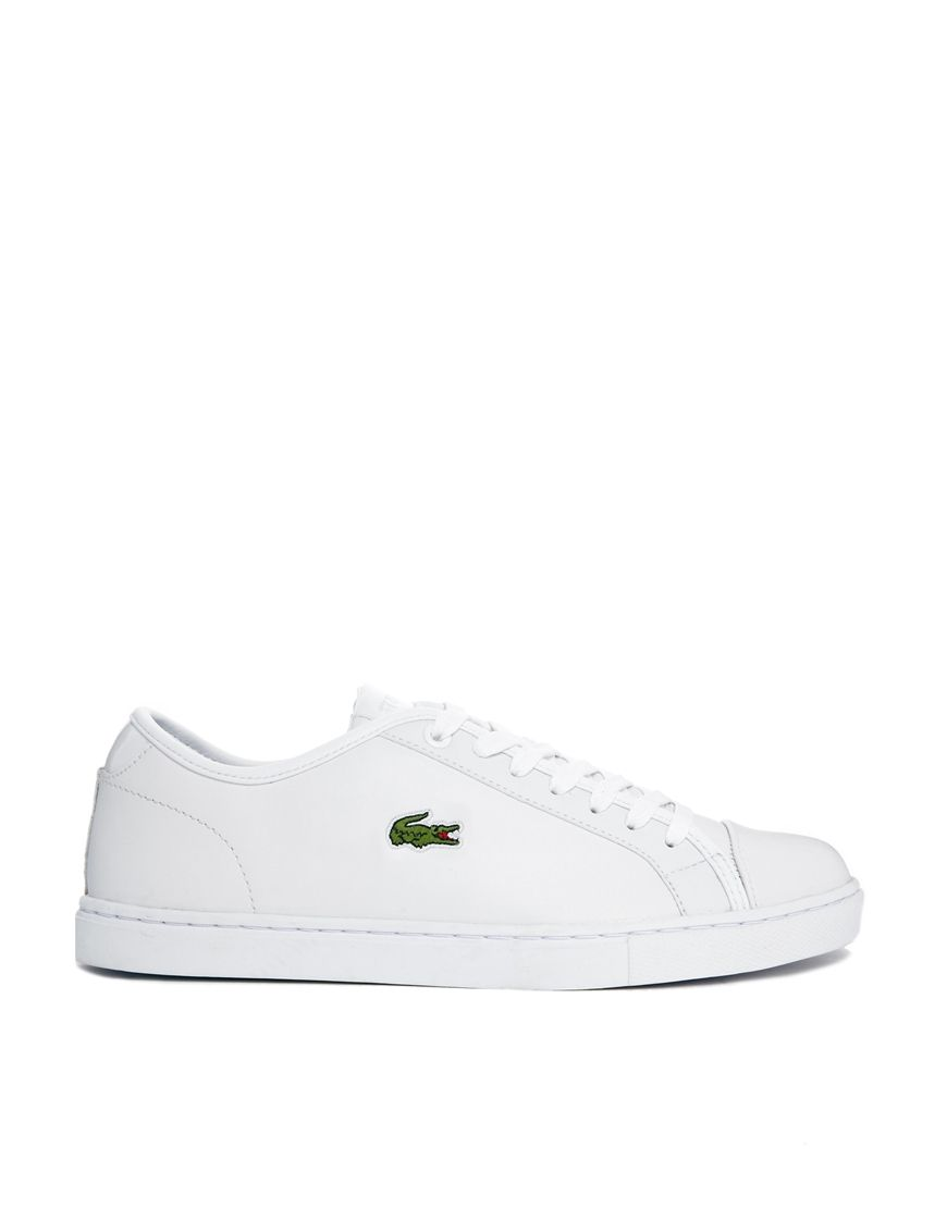 a45ee028ecad Lacoste showcourt white leather trainers - I need