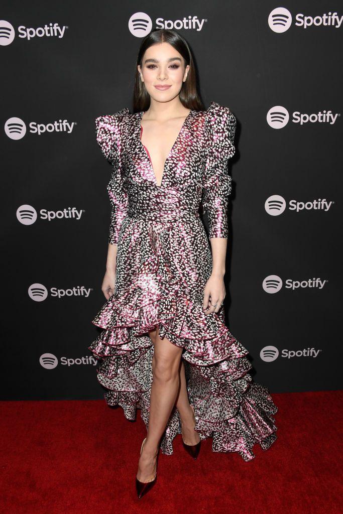 Hailee Steinfeld attends Spotify