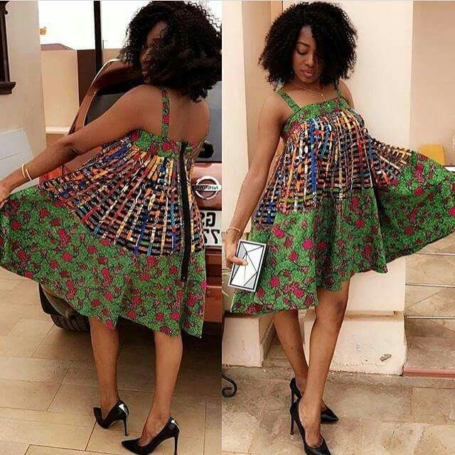 Ankara Styles You Can Wear As Maternity Outfits   ~model outfits ... 2b6548e72975