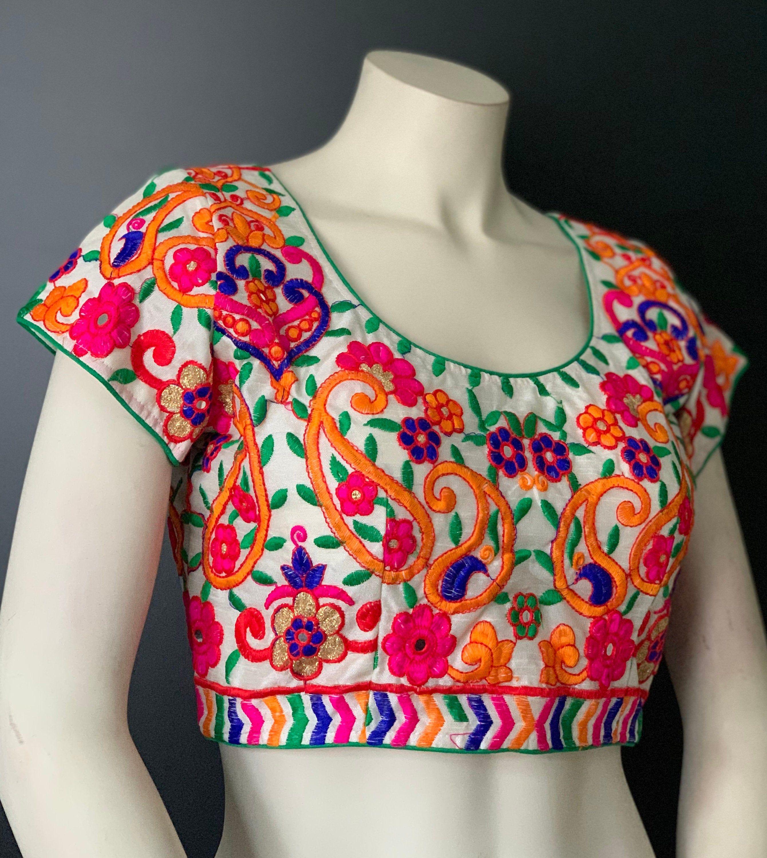Cut Work  Designer Readymade BlousesIndian Saree Blouses