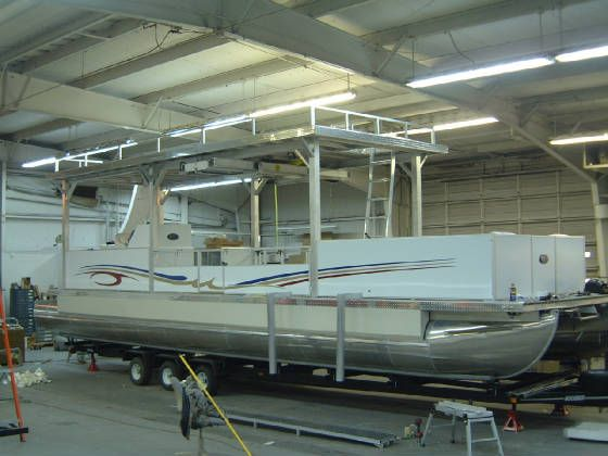 Image Detail For Offering Kits And Pre Built Pontoon Boats As Well