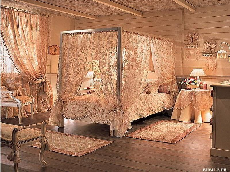 Romantic Victorian Bedrooms | Romantic Bedroom Designs With Canopy