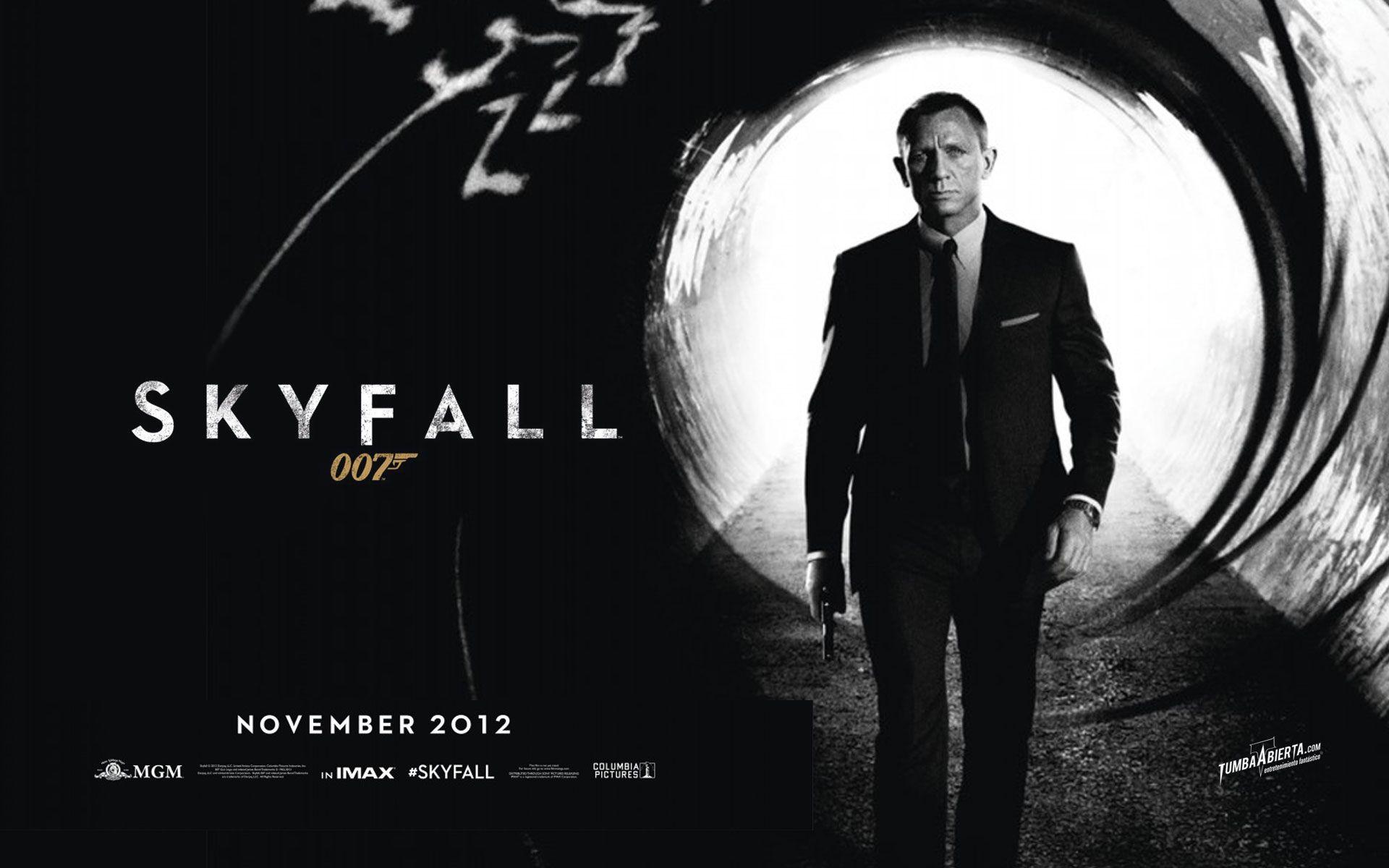 Skyfall...o pior filme de toda a serie 007.