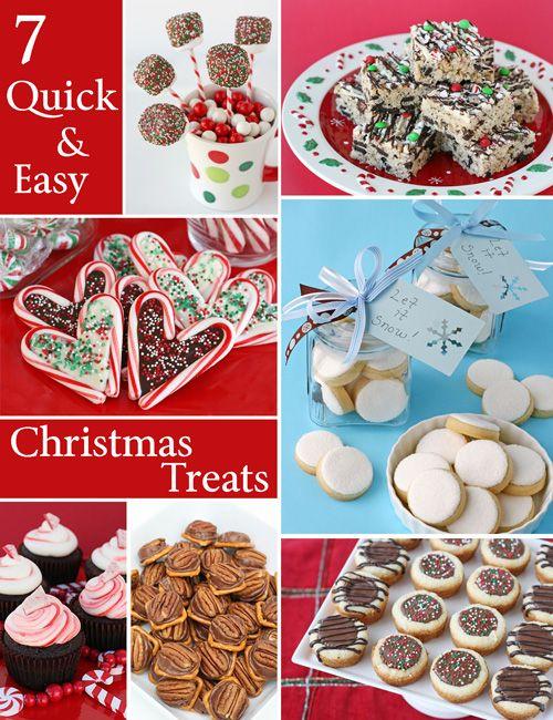 Quick and easy christmas treats easy christmas treats for Easy quick christmas baking recipes