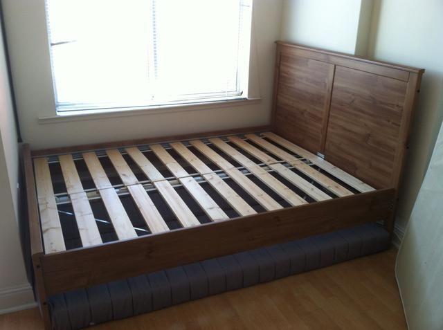 Ikea Leirvik Bed Frame Full Assembly Guide