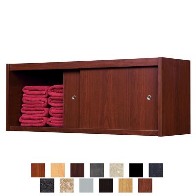 Kaemark upper towel cabinet salons towels and salon design for Armoire salon design