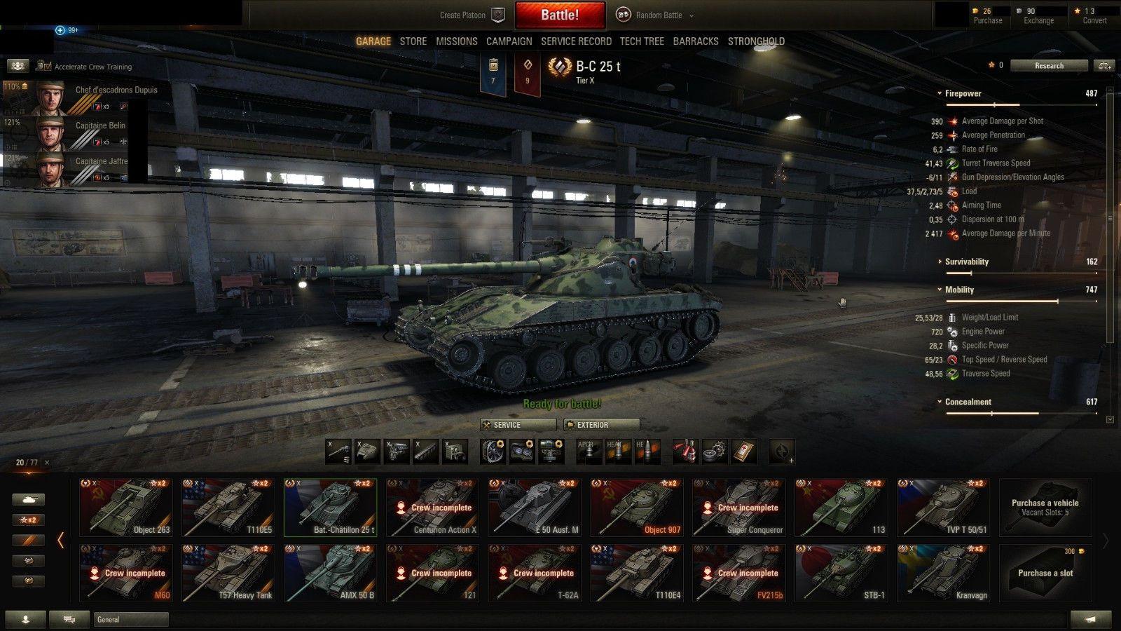 World Of Tanks Account Eu 3100 Wn8 35000 Battles 19 Tier X 90 Million Credits World Of Tanks World Battle