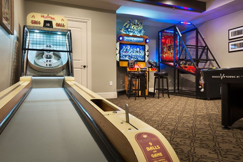 Get your game on with these tricked out accessories. Take a trip to the arcade | Reunion Resort 475 | Game room ...