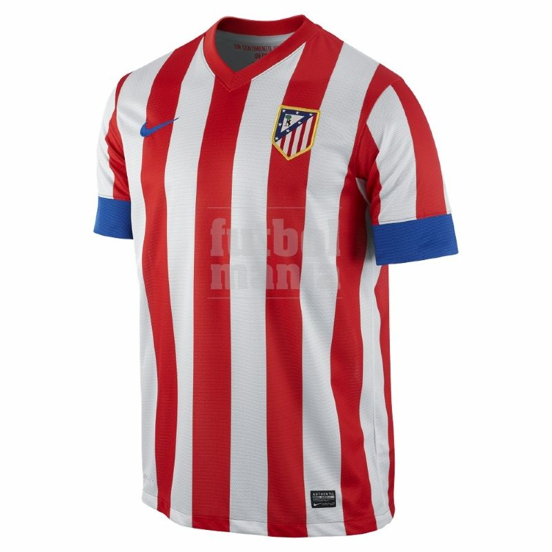 Camiseta Atlético De Madrid 12 13 Http Www Futbolmanianet Com Futbol 479828601 Camiseta Nike At Madrid 1a 12 Football Shirts Men Short Sleeve Atlético Madrid