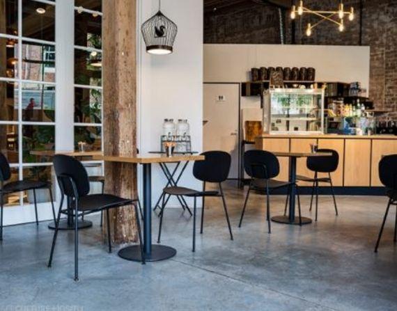 Chaise De Terrasse Bar Restaurant Tondina Sledge Mobilier Design Chaise Restaurant Mobilier