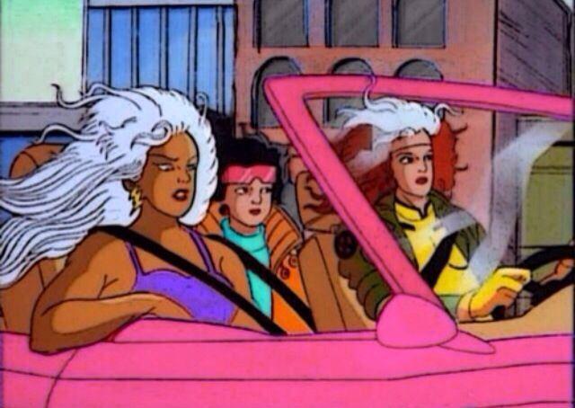 Storm Rogue Jubilee X Men Disney Princess Cartoons Cartoon Illustration