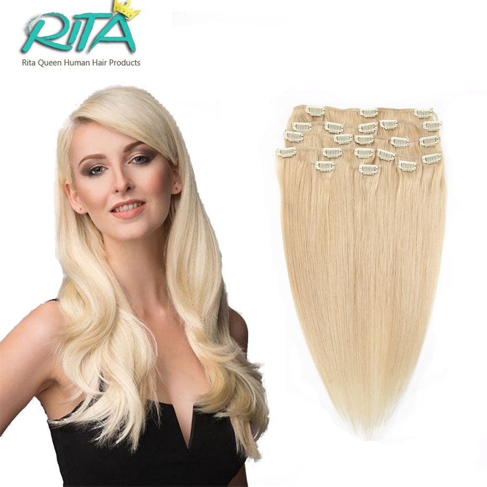16 28 blonde clips in human hair extensions full head real remy 16 28 blonde clips in human hair extensions full head real remy human pmusecretfo Image collections