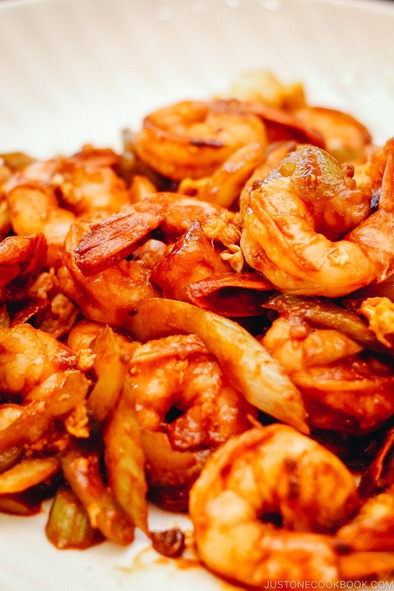Easy Shrimp And Celery Stir Fry Recipe Shrimp Recipes Easy
