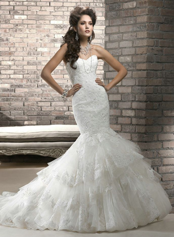 My Heart Can T Take It This Is So Beautiful Amazing Mermaid Wedding Dresses 2017