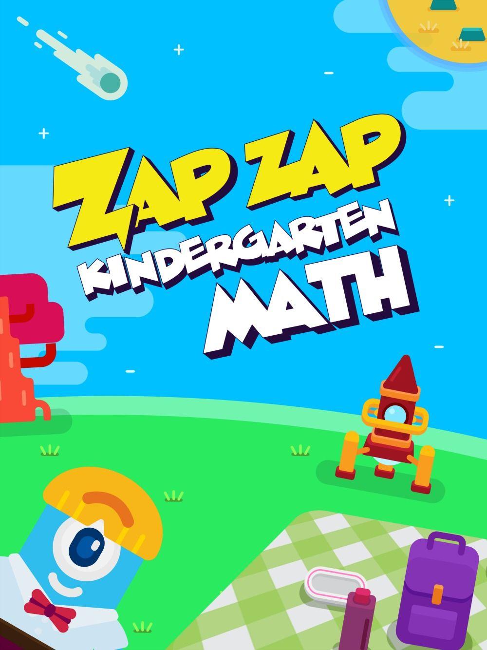 7 Reasons Kids Should Play Zap Zap Kindergarten Math App | Plays