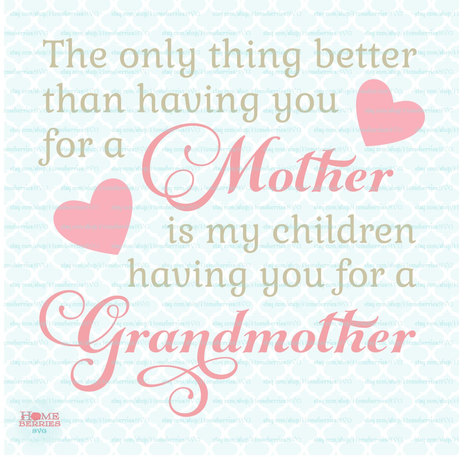 Pin on Homeberries SVG Cut Files Mother's Day