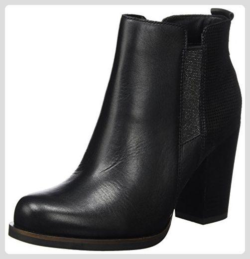 Hilfiger Denim Damen J1385ADE 13C Chelsea Boots, Schwarz (Black), 36 EU - ce2495cff8