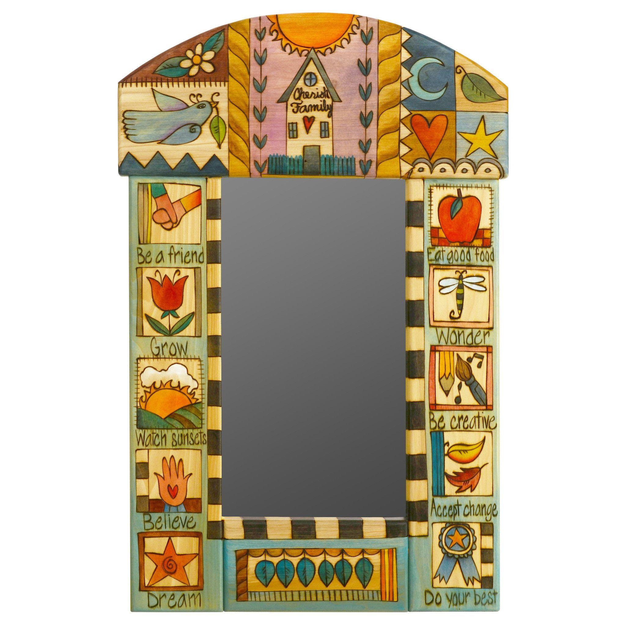Rounded Standard Mirror MIR050, MIR053-D71320 | Arte en metal ...