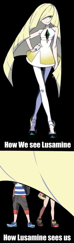 Image result for lusamine memes