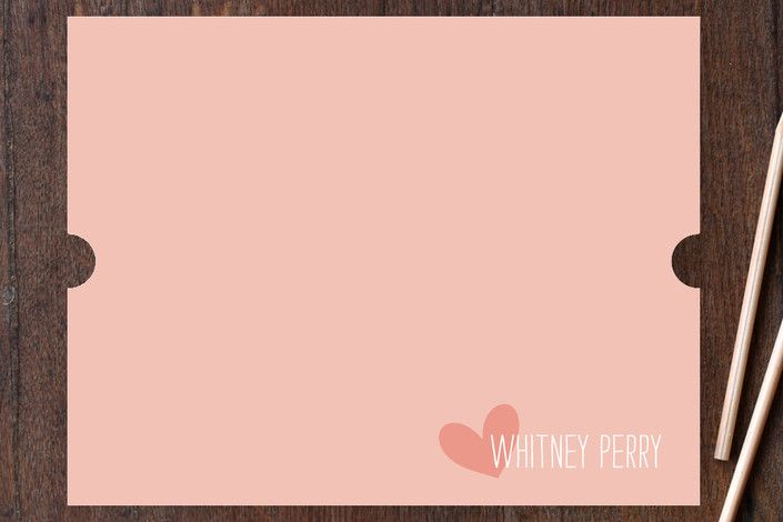 Love From Children's Personalized Stationery by Ki... | Minted