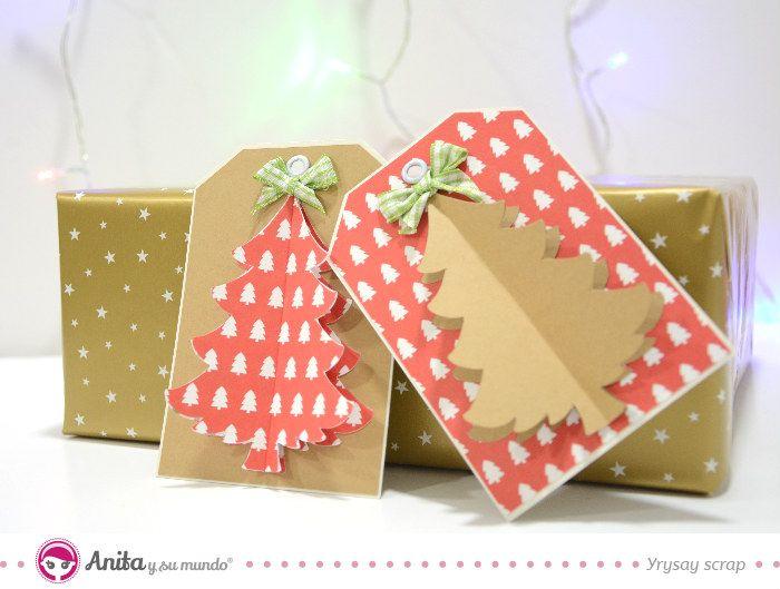 Diy 5 Etiquetas Para Regalos Originales Y Faciles De Hacer Manualidades Papercraft Regalos Originales Regalos De Navidad Originales Regalos Sentimentales
