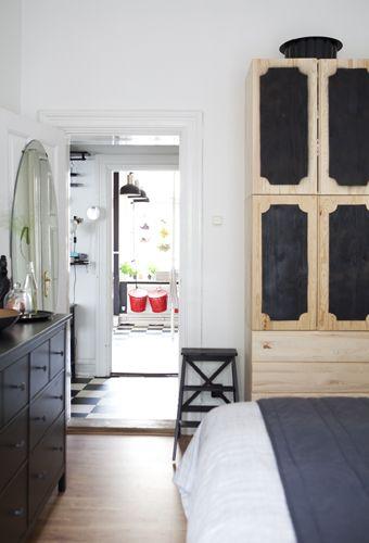 Ikea Ivar Schrank ein schlafzimmer mit ikea schränken u a mit ivar schrank in
