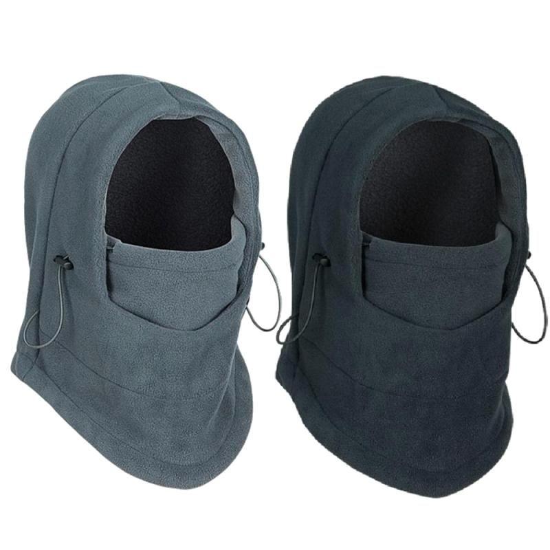 a7657d747a9 Thermal Fleece Balaclava Hat Hooded Neck Warmer Winter Sports Face Mask for  Men  8.74   gt