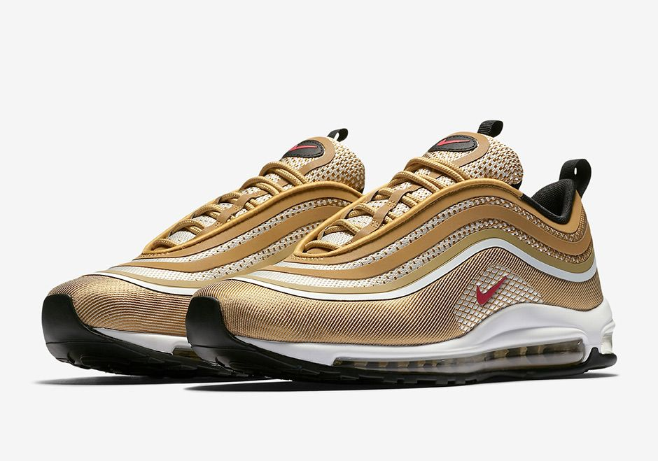 Nike Air Max 97 Ultra 17 Metallic Gold 918356 700 | Air max