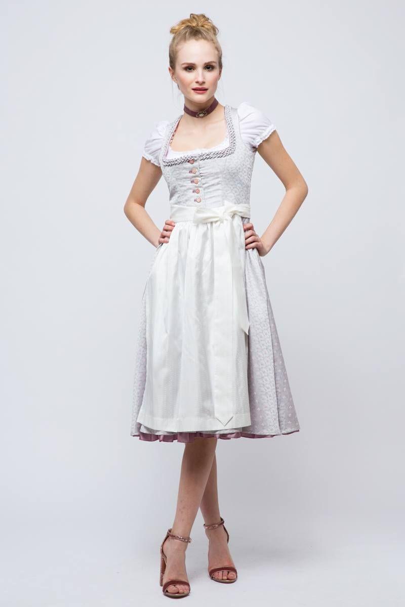 2072abb10e52be Hochzeitsdirndl - Designer, Farben & Accessoires | Dirndlschleifchen.de  Braut Dirndl, Verzierungen