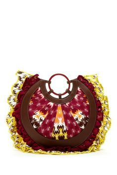 Missoni Round Woven Print Clutch Such An Amazing Bag