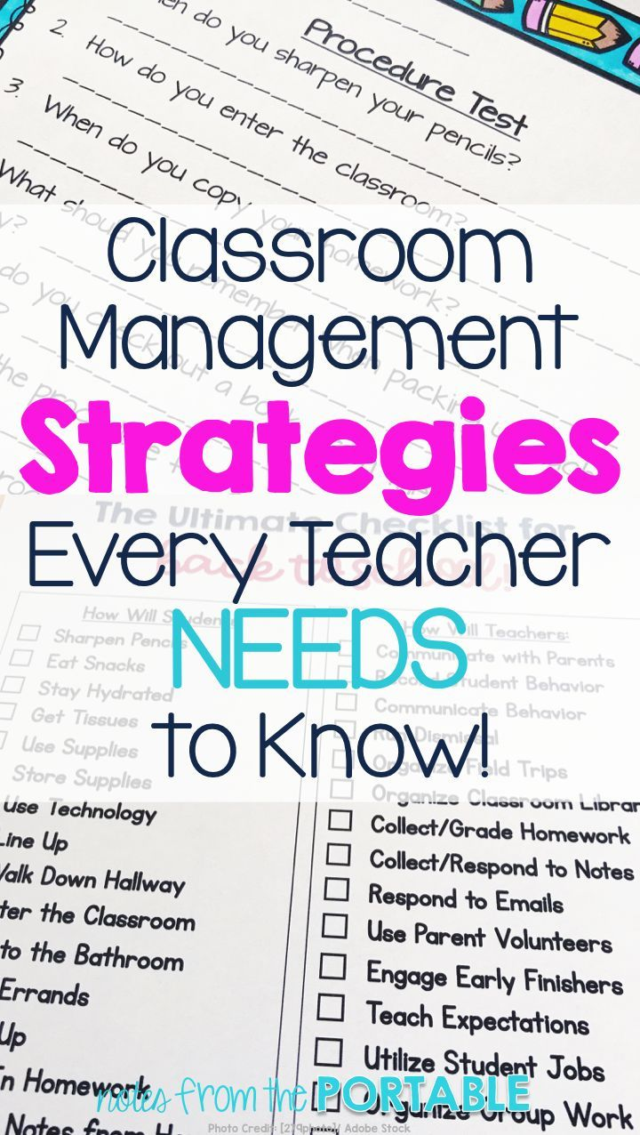 6 Classroom Management Tips for an Amazing School Year! | Classroom