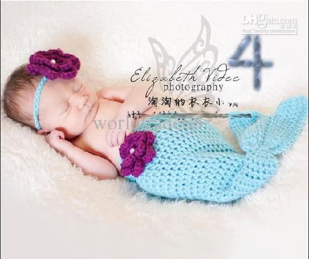crochet baby mermaid photo prop - Google Search