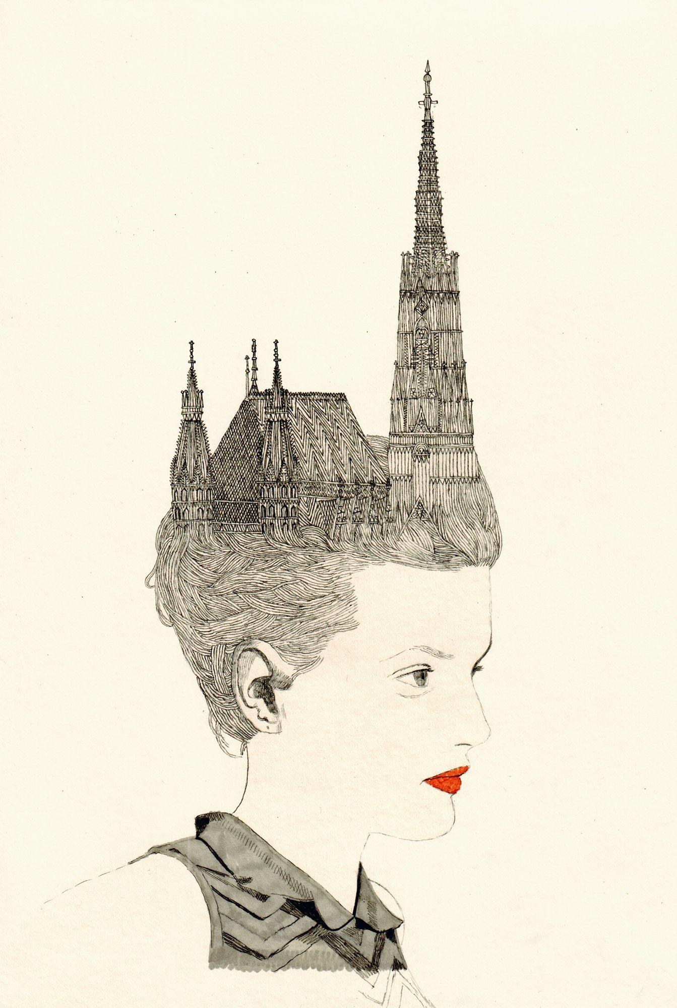 Artist Anna Higgie at Illustration Division