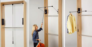 Amazing Wardrobe Lift From Hafele · Closet RodWood ...