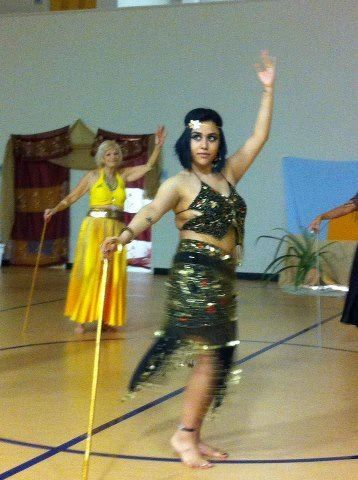 Cane Dance Belly Dancers Pop Culture Fashion