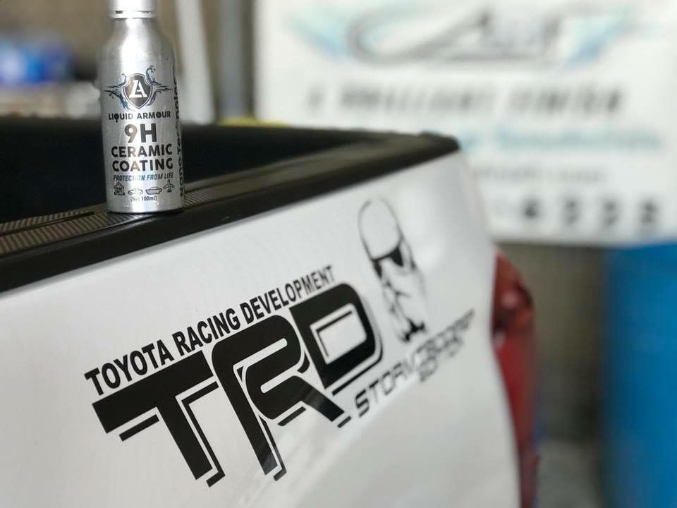 Ceramic coating Toyota Toyota trd, 2017