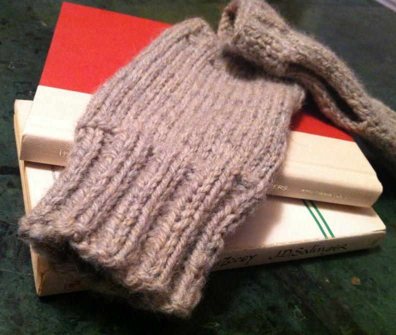 Beginnger Gloves Knitting Pattern Knitting Pinterest