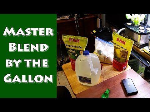 Masterblend By The Gallon Hydroponic Fertilizer 400 x 300