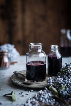 Elderberry Syrup #elderberryrecipes