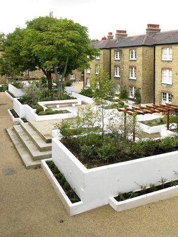 Communal Garden in London Landscape by Design Pinterest