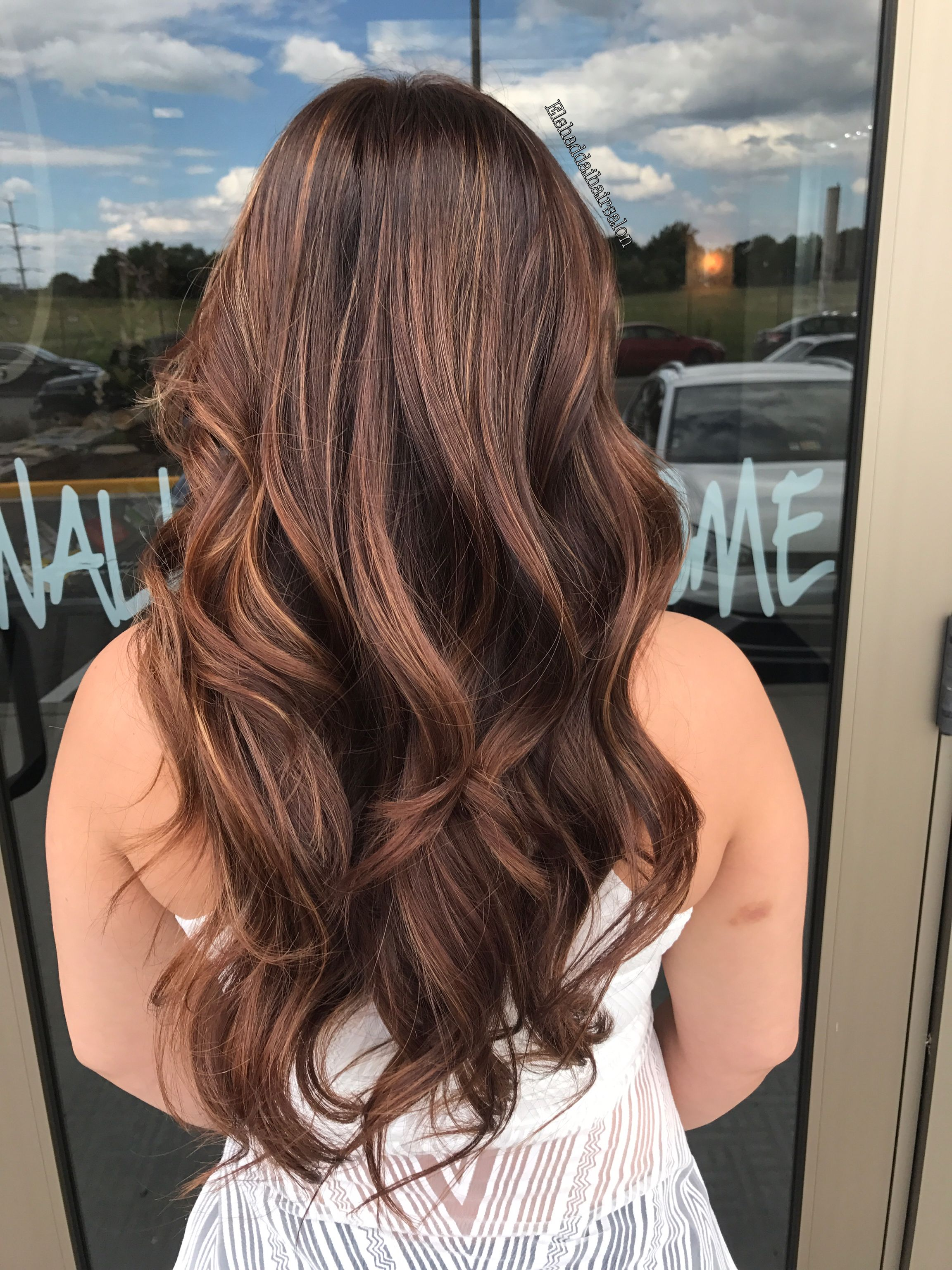 Hazelnut Mocha Hair Color