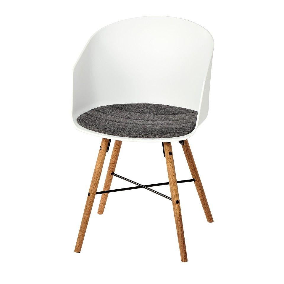 Eckbank dänisches bettenlager  Esszimmerstuhl Hvam (retro, weiß) - Esszimmerstühle ...