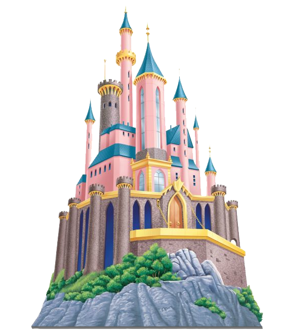 43+ Disney princess castle clipart ideas