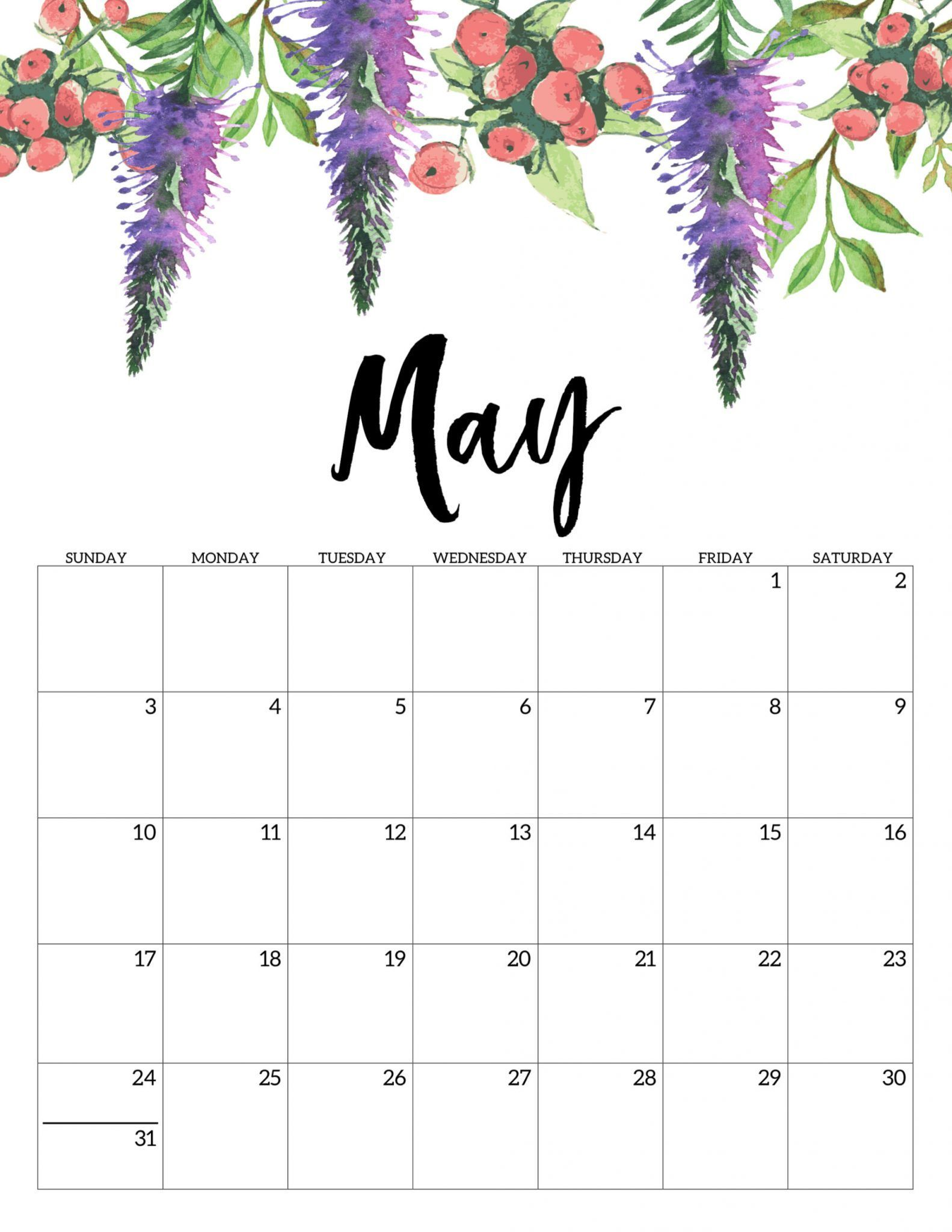 Free March April May 2020 Calendar Printable Templates In 2020