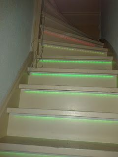 RGB LED DIY Stair Lighting Using An Arduino And TLC5940 Chips_3