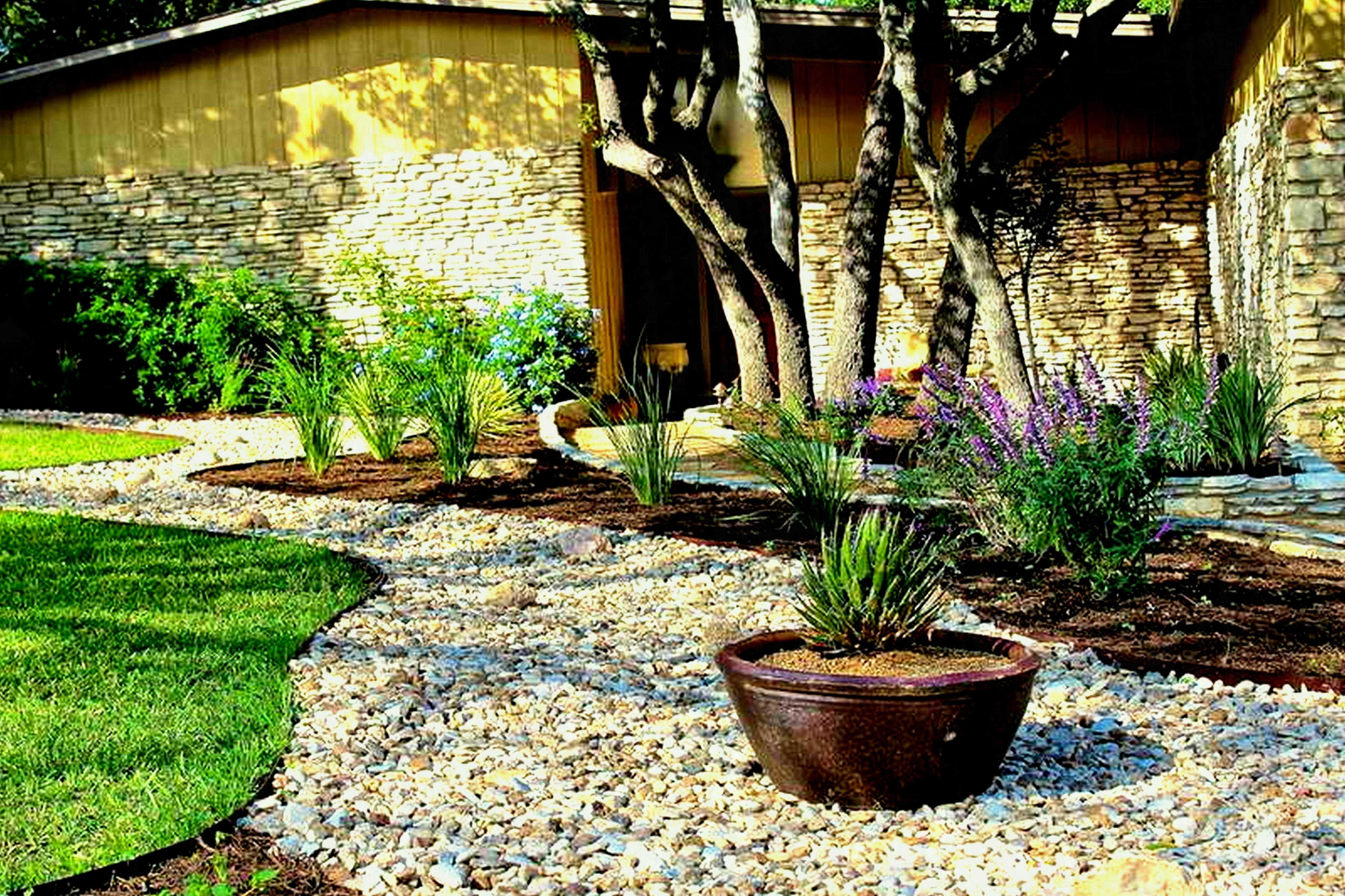 20 Awesome Modern Rock Garden And Flower Decoration Ideas With Images Stone Landscaping Backyard Landscaping Designs Landscaping With Rocks