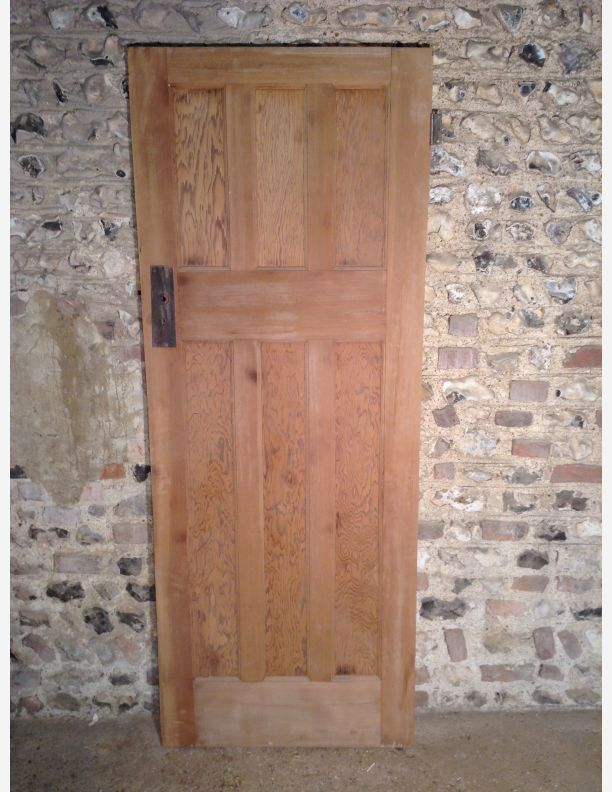 Find this Pin and more on Historic doors. & 522 - 1950s 5 Panel Internal Door with Tiger Ply Panels | retro ... Pezcame.Com